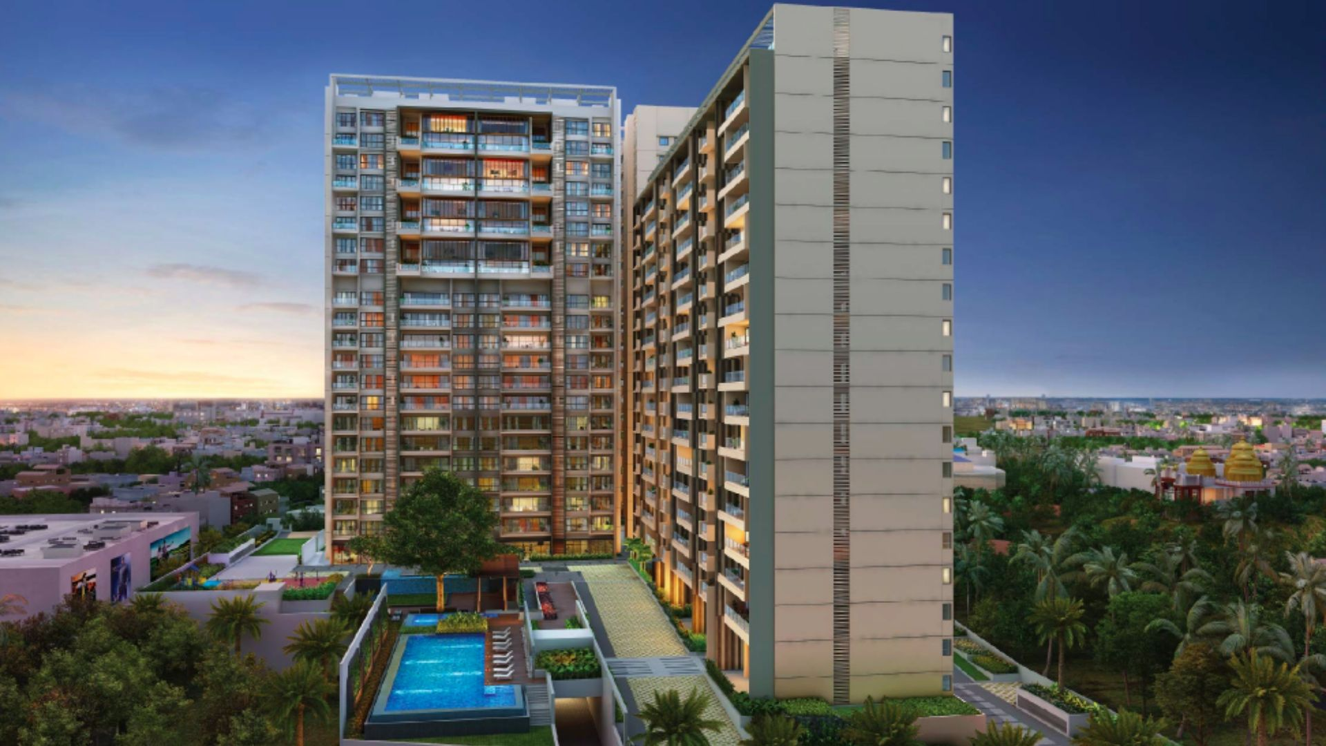 Peninsula Heights luxury apartments | Luxuryproperties.in