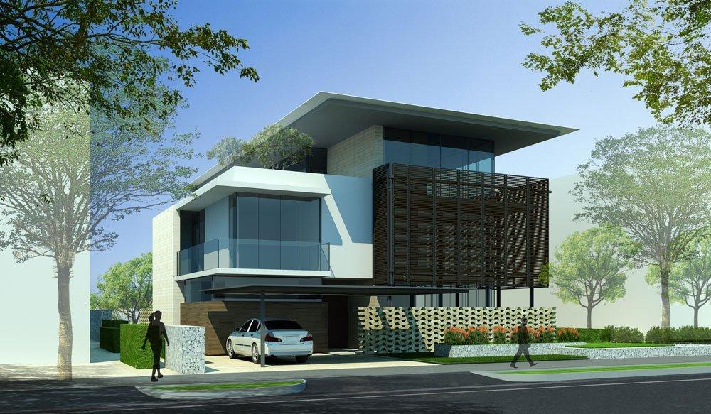 Embassy Boulevard Villa in Bangalore