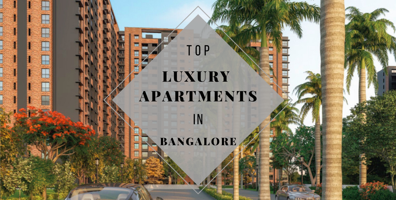 Top luxury apartments in Bangalore