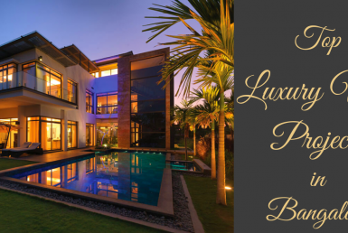 Top luxury villa projects in Bangalore