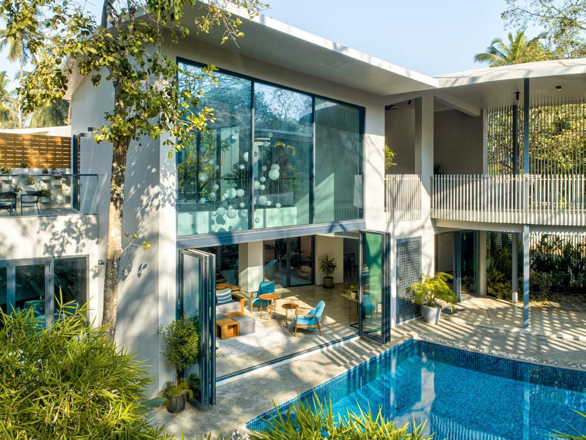 Lua the moon house luxury villa in goa | luxuryproperties.in